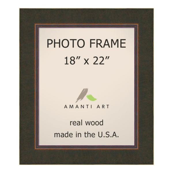 Amanti Art Milano 18 In X 22 Bronze Picture Frame Dsw1385322 The Home Depot