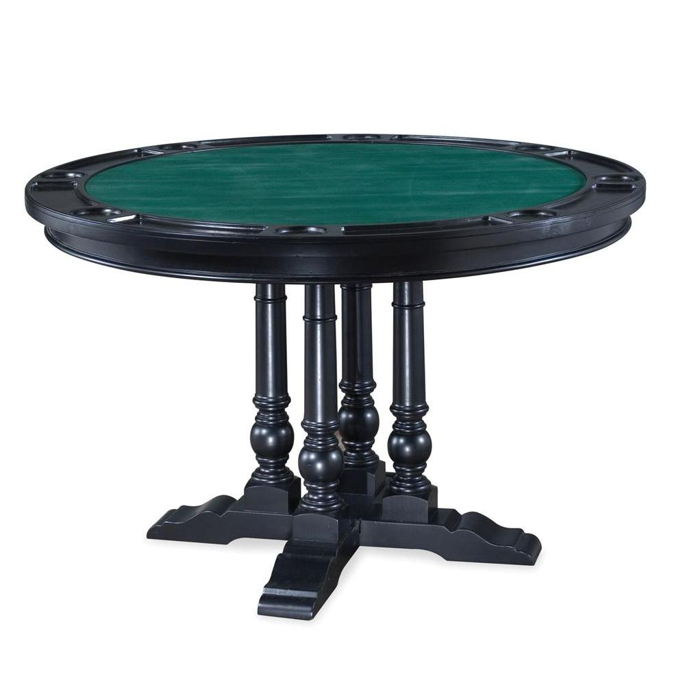 Home Styles St Croix 48 in. 5-Piece Game Table Set-DISCONTINUED