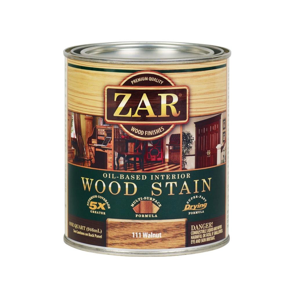 111 1 qt. Walnut Wood Stain (2-Pack)
