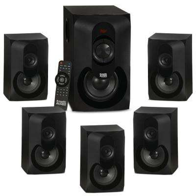 5.1 Bluetooth Multimedia Home Theater Surround Sound Speaker System