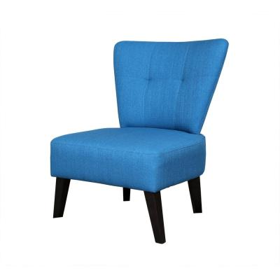 Maddie Bue Contemporary Barrel-Back Accent Chair