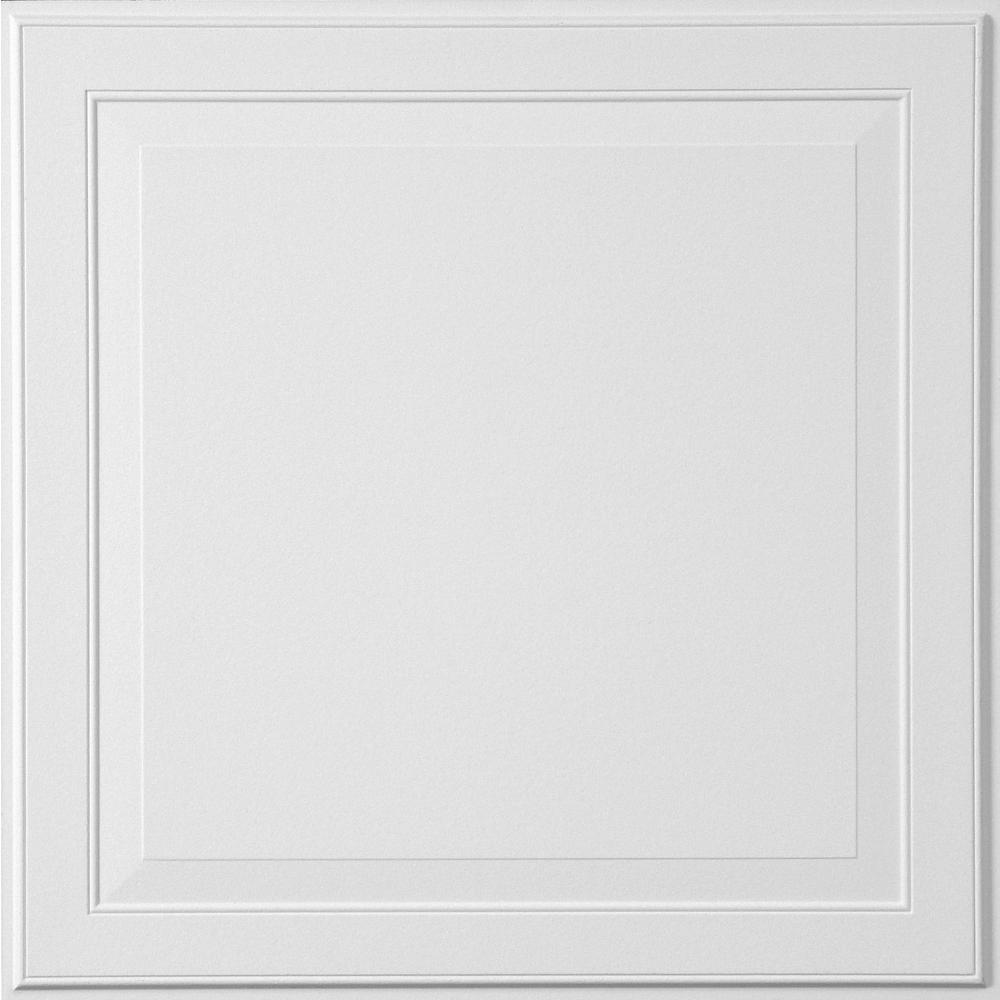 Single Raised Panel 2 ft. x 2 ft. Tegular Ceiling Panel