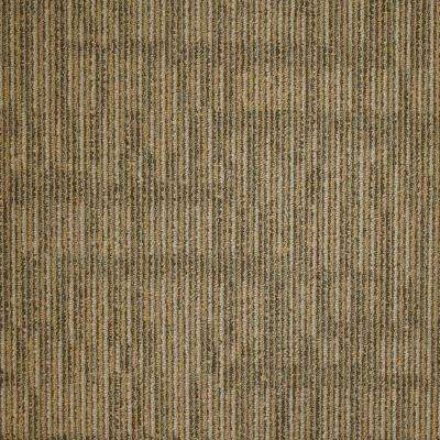 Union Square Wheat Loop 19.7 in. x 19.7 in. Carpet Tile (20 Tiles/Case)