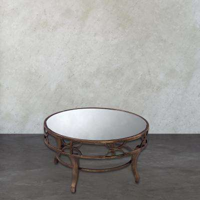 Treviso Antique Gold Coffee Table