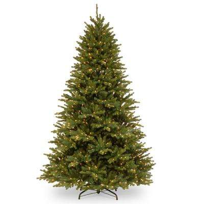 7.5 ft. PowerConnect(TM) Anderson Spruce with Dual Color LED Lights