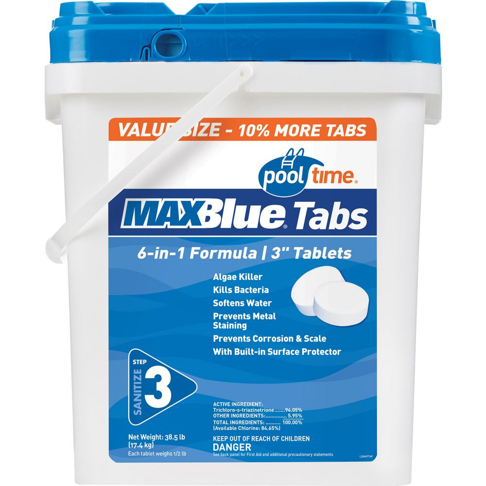 MaxBlue 38.5 lbs. 3 in. Chlorine Tablets