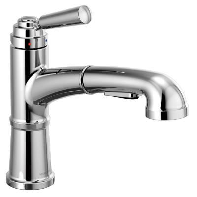 Westchester Single-Handle Pull-Out Sprayer Kitchen Faucet in Chrome