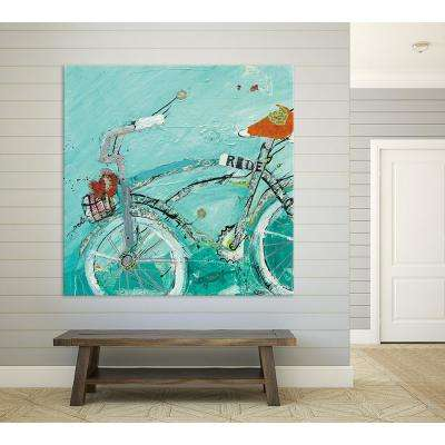 "72 in. x 72 in. ""Ride"" by Kellie Day Printed Framed Canvas Wall Art"