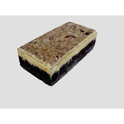 4 in. x 8 in. Paver Buff with Shells and Abalone (100 sq. ft. per pallet)