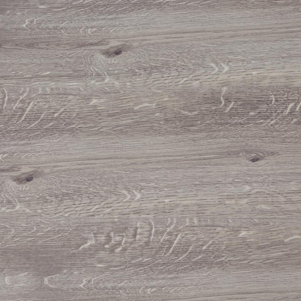 Grey Wood 7.5 in. x 47.6 in. Luxury Vinyl Plank Flooring (24.74 sq. ft. / case)