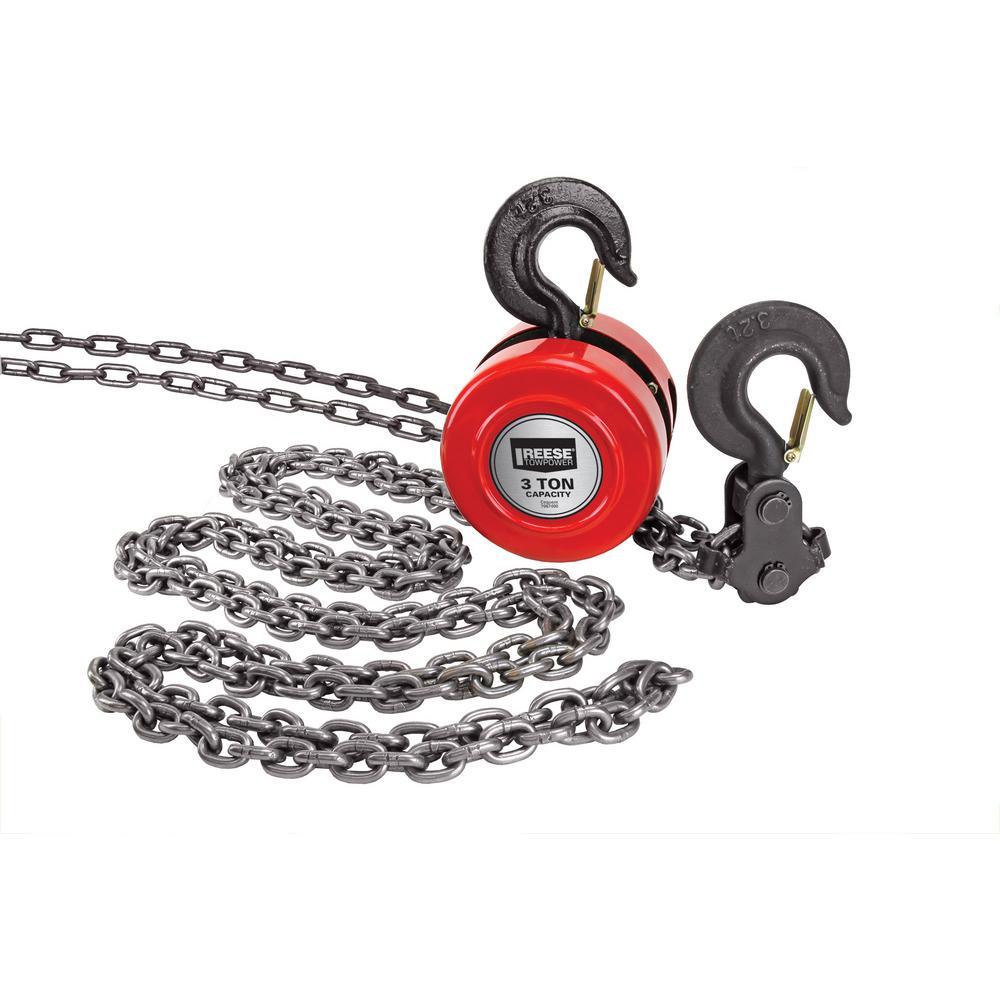 Reese Towpower 3-Ton Chain Hoist
