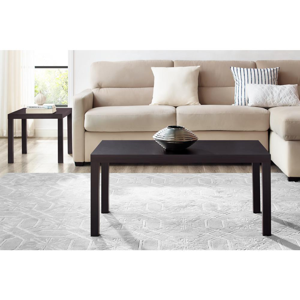 Dhp Parsons Espresso Coffee Table