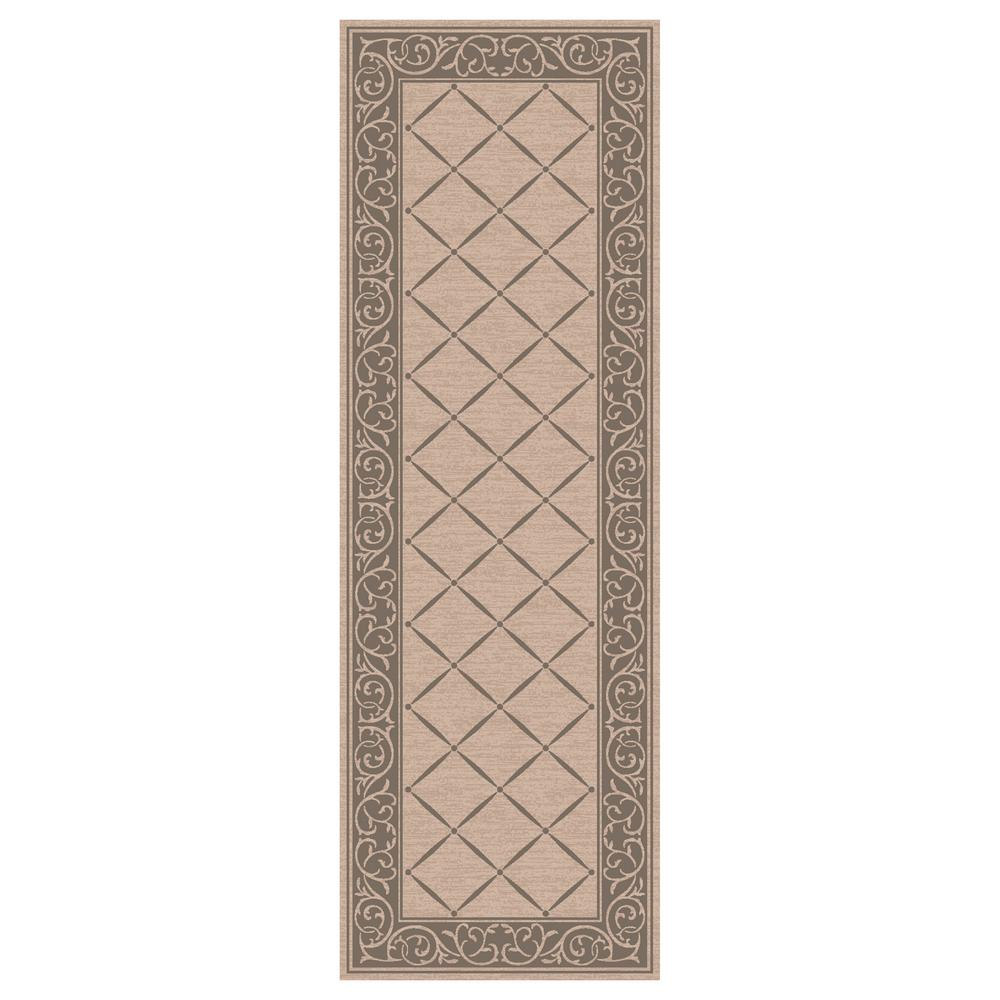 TrafficMASTER Horchow Tan 2 ft. x 5 ft. Accent Rug