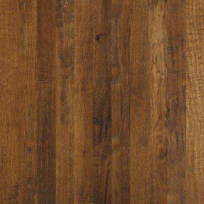 Take Home Sample - Western Hickory Espresso Engineered Hardwood Flooring - 3-1/4 in. x 10 in.