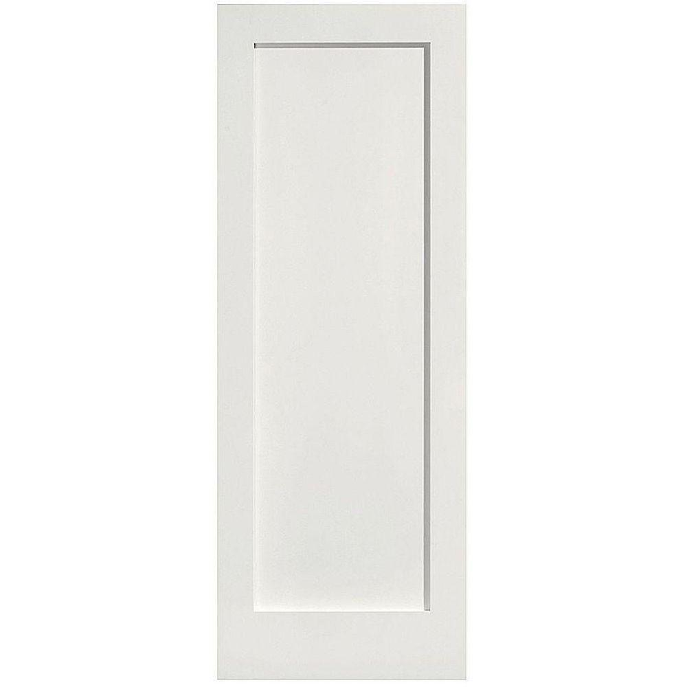 Masonite 36 in x 80 in mdf series 1 panel right handed for 1 panel door