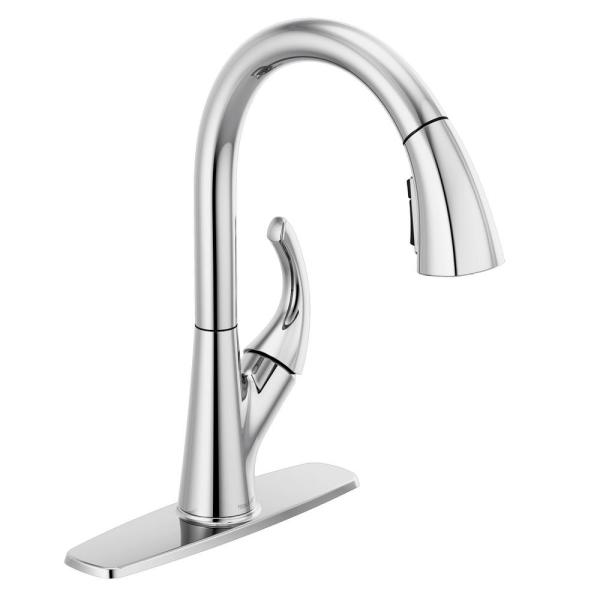 Peerless Parkwood Single Handle Pull Down Sprayer Kitchen Faucet