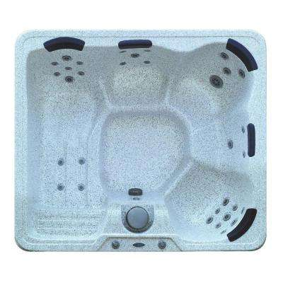 5-Person 32-Jet Hot Tub Spa with Lounge in Sahara
