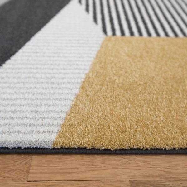 Balta Evelina Gold 8 Ft X 10 Ft Area Rug 3003796 The Home Depot