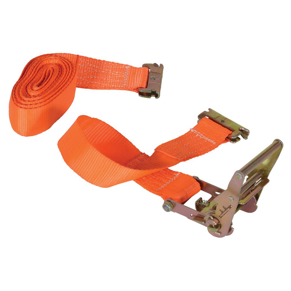 16 ft. Ratcheting Cargo Strap with E-Clip