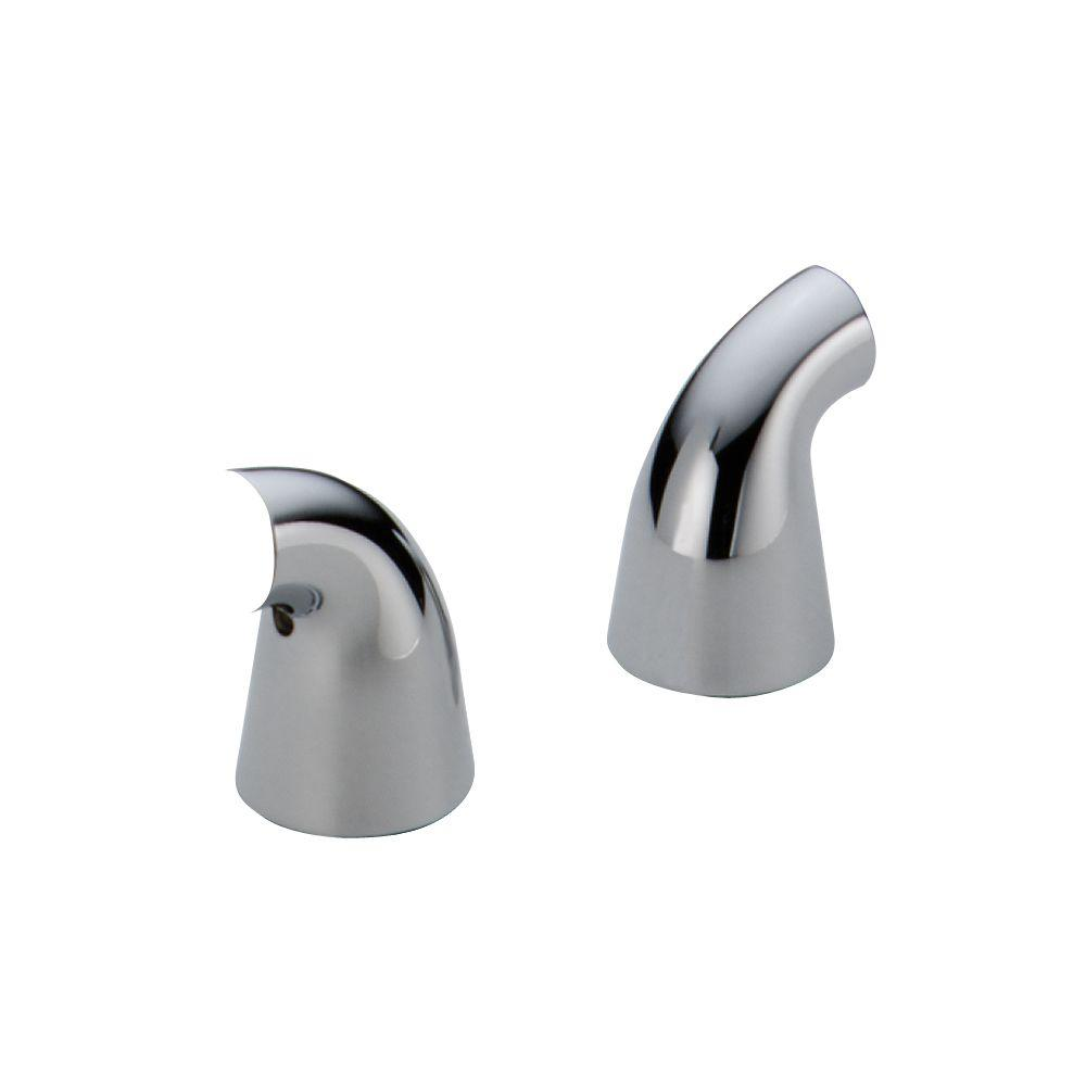 Delta Pair of Innovations Lever Handle Bases in Chrome for Bidets ...