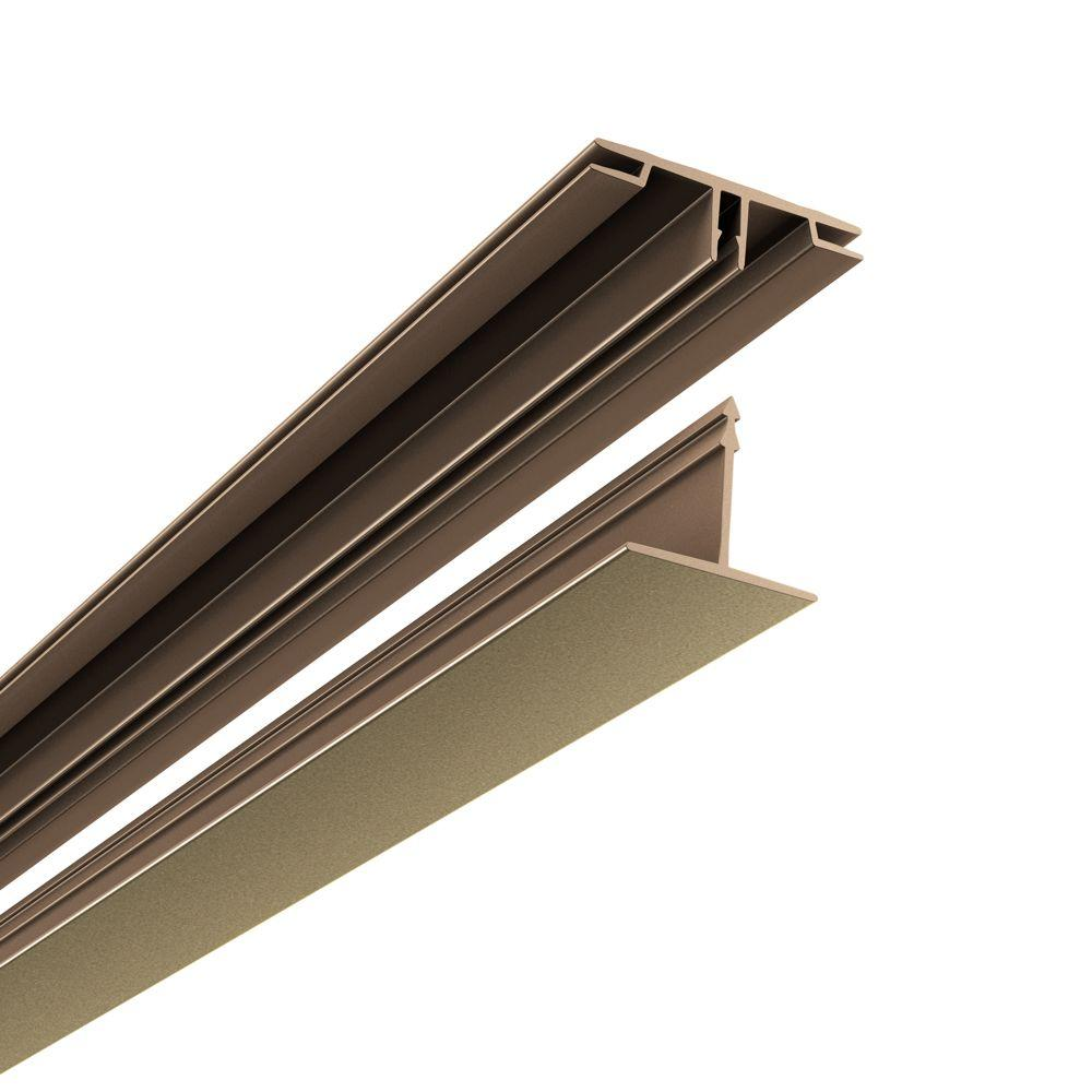 100 sq. ft. Ceiling Grid Kit in Argent Bronze