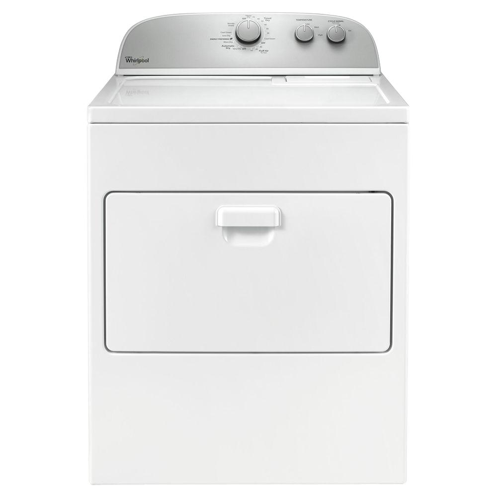 Electric Dryer in White-WED4916FW - The Home Depot  sc 1 st  The Home Depot & Whirlpool 7.0 cu. ft. Electric Dryer in White-WED4916FW - The Home ... pezcame.com