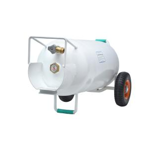40 lbs. Horizontal and Vertical HOG Propane Cylinder with Wheels