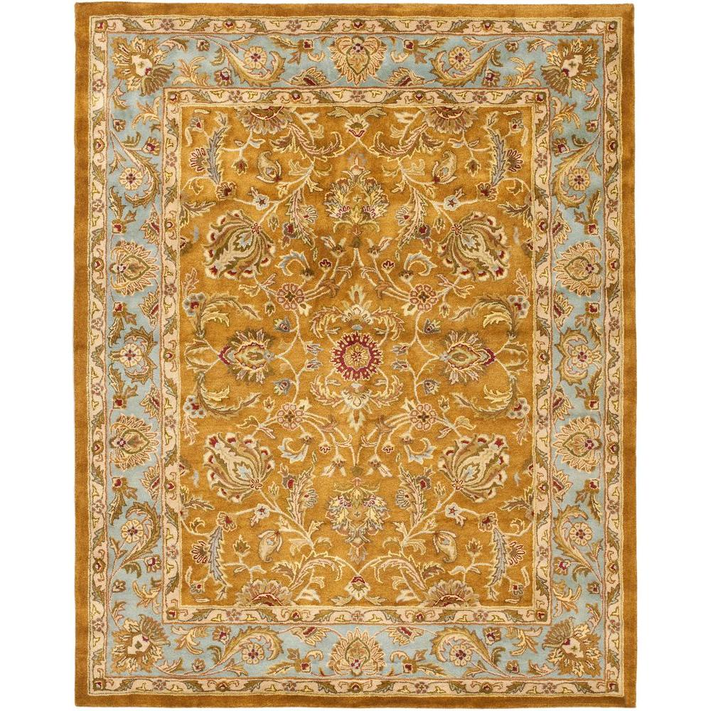 Safavieh Heritage Brown/Blue 9 ft. 6 in. x 13 ft. 6 in. Area Rug