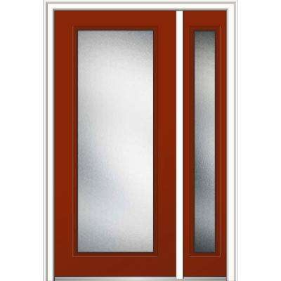 48 in. x 80 in. Micro Granite Glass Right-Hand Full Lite Classic  sc 1 st  Home Depot & 48 x 80 - Weatherstripping - 4-9/16\