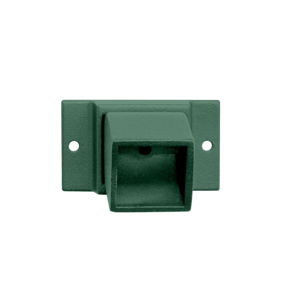Allure Aluminum 2 in. x 2 in. Hunter Green Adjustable Wall Flange-DISCONTINUED