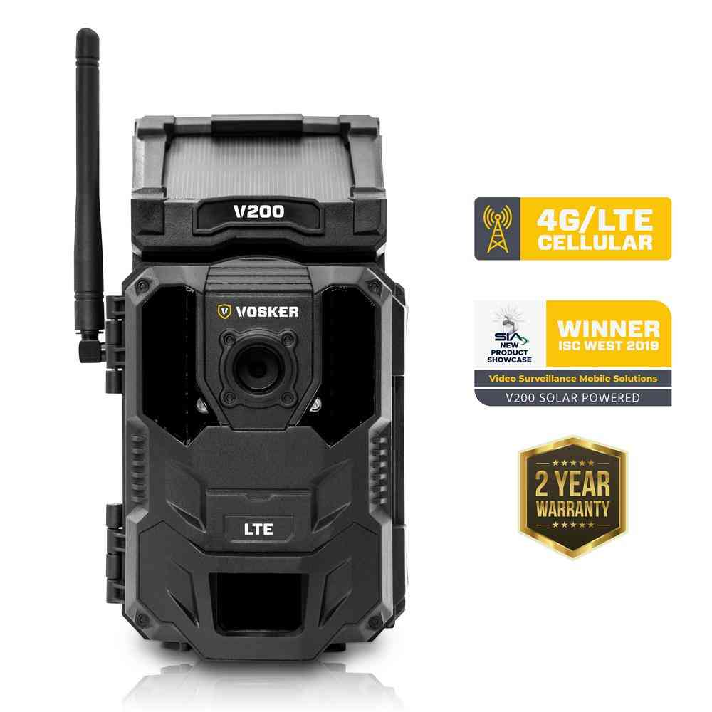 VOSKER Wireless LTE mobile security camera (US) - Sale: $396.34 USD (24% off)