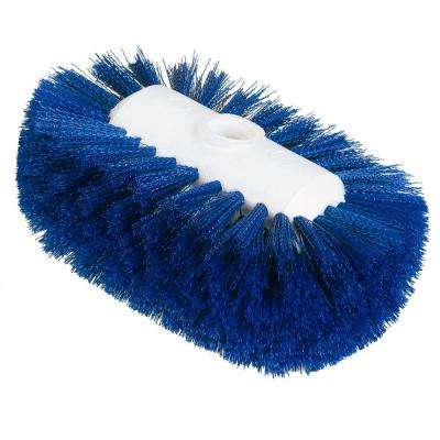5.25 in. x 7.5 in. Blue Tank and Kettle Scrub Brush (12-Case)