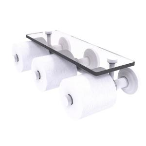 Allied Brass Southbeach Collection Upright Toilet Tissue Holder In Matte White Sb 24u Whm The Home Depot