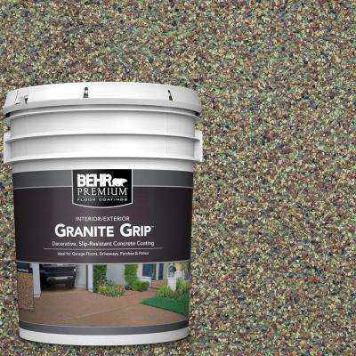 5 gal. #GG-12 Imperial Jade Decorative Flat Interior/Exterior Concrete Floor Coating