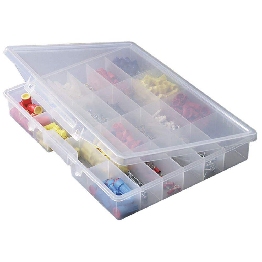 Plano Portable 24 Fixed Compartment Organizer 532430 The Home Depot