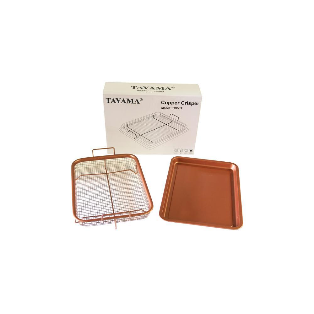The Tayama 2-Pieces Copper Crisper