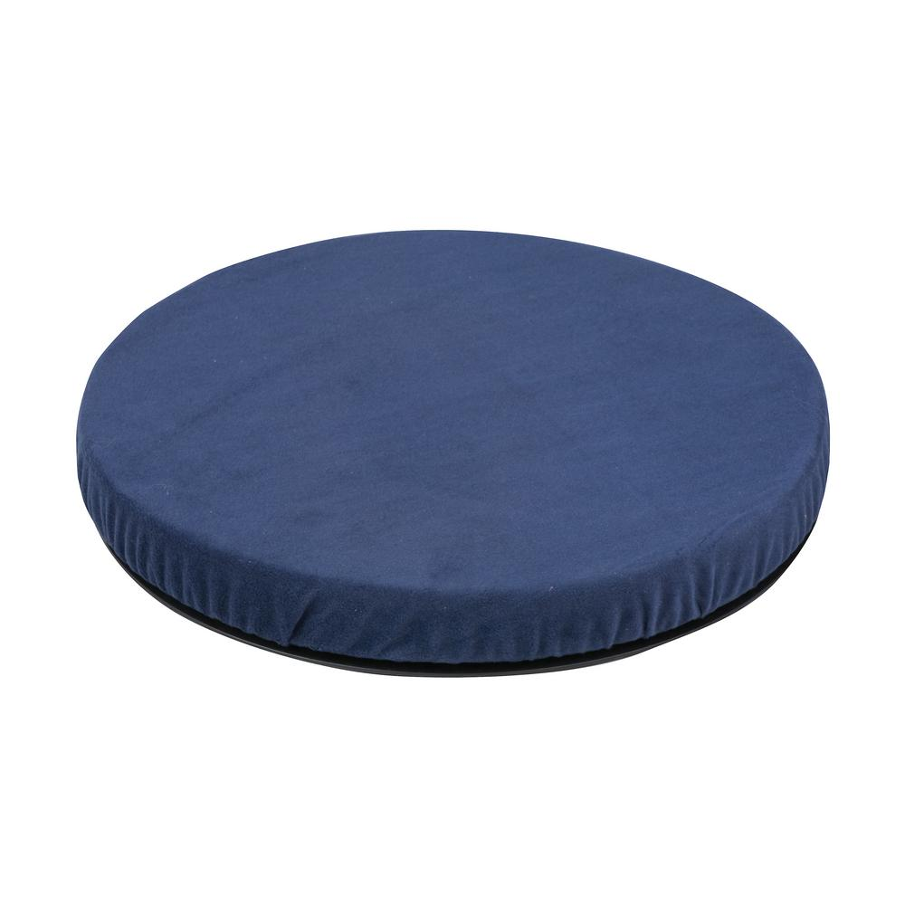HealthSmart Deluxe Swivel Seat Cushion in Navy