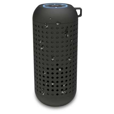 Alexa Voice Activated IPX6 Waterproof Wireless Bluetooth Portable Speaker, Black