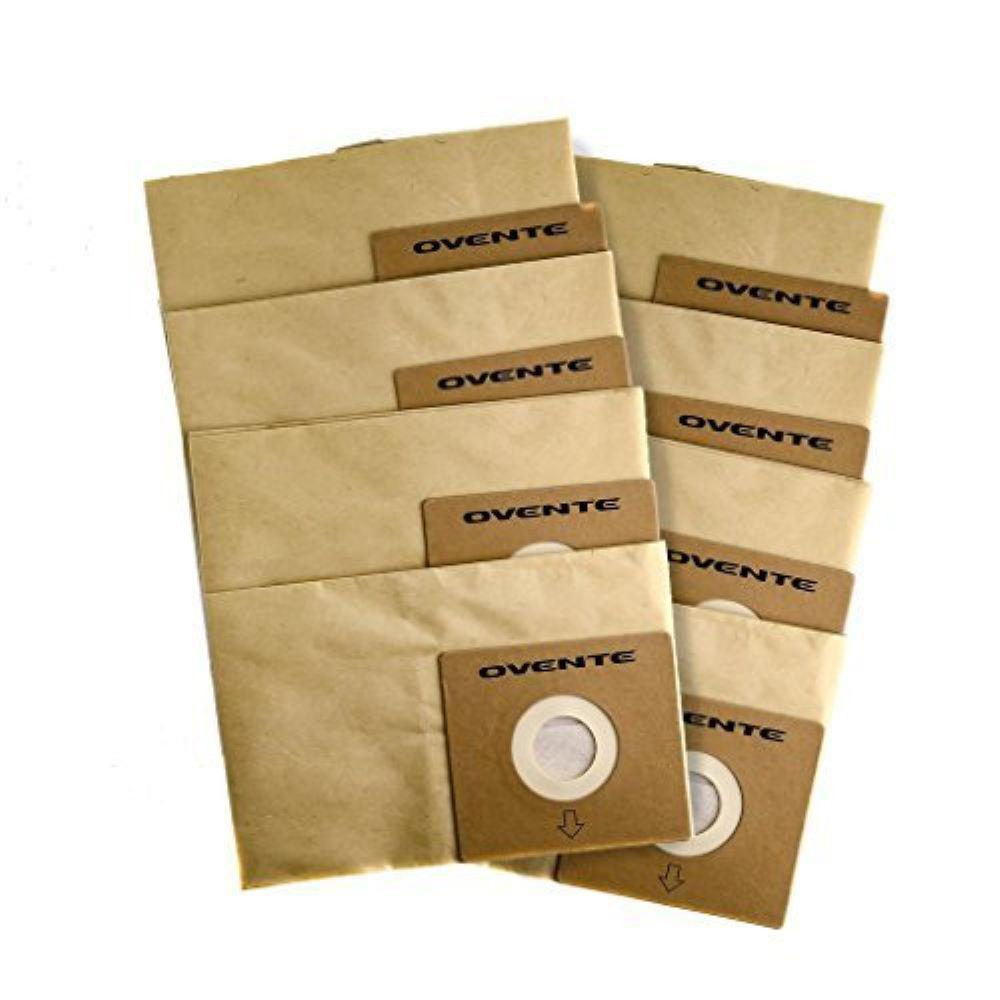 Ovente ST1600 Series Dustbag 8PC Household-Canister-vacuums