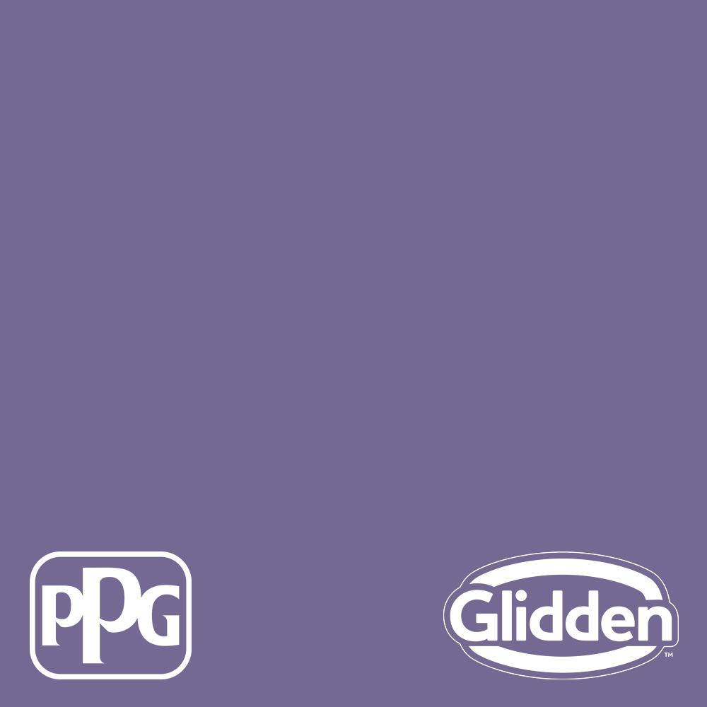 Glidden Premium 1 Gal Ppg1175 6 Purple Grapes Eggshell Interior Paint Ppg1175 6p 01e The Home Depot