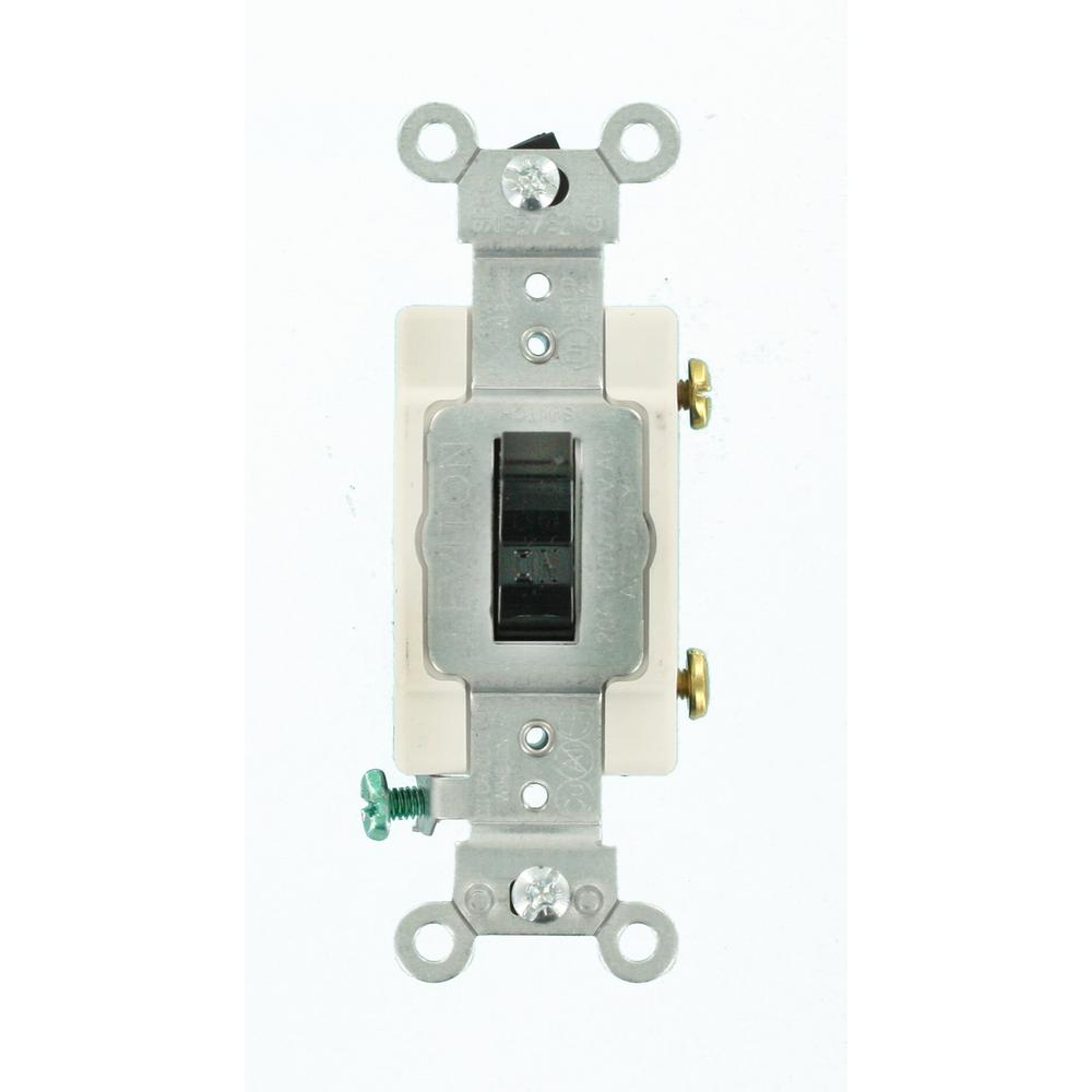 Black - Light Switches - Wiring Devices & Light Controls - The Home ...