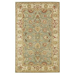 Home Decorators Collection Old London Green/Ivory 9 ft. 6 inch x 13 ft. 6 inch Area Rug by Home Decorators Collection