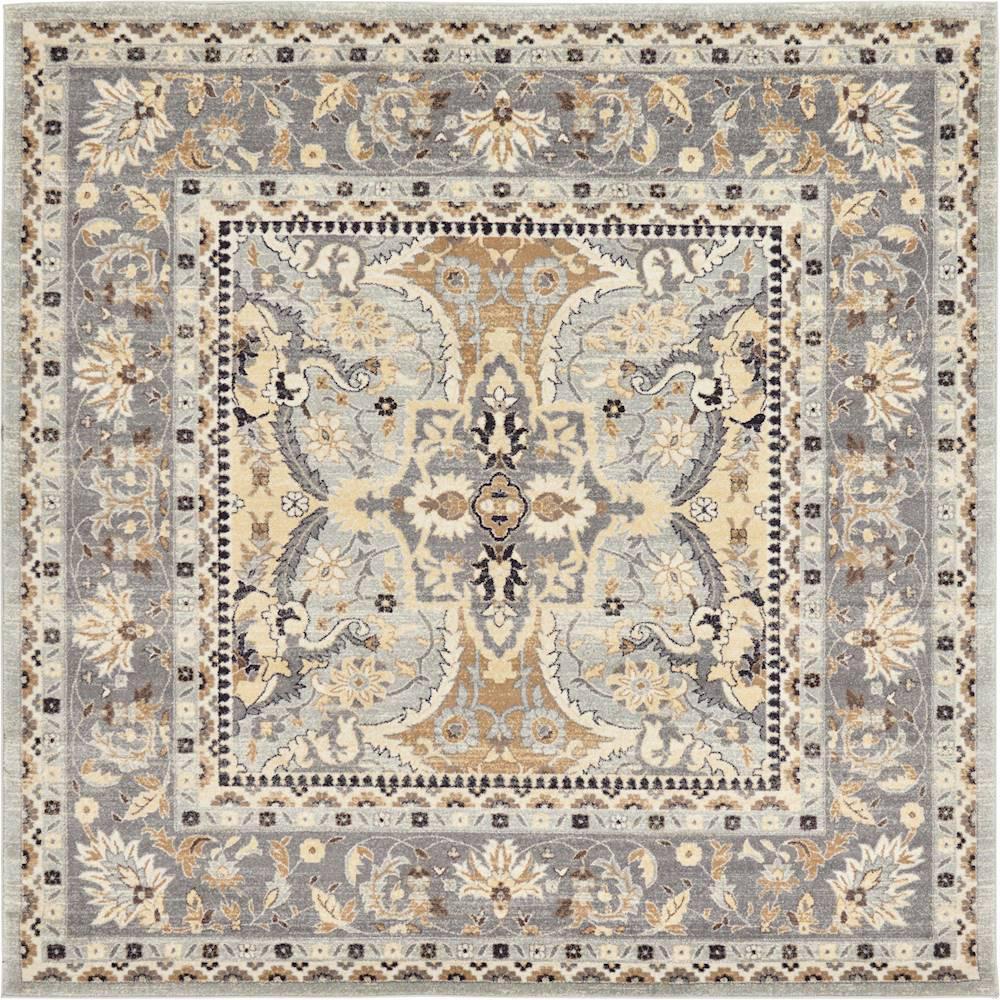 Tradition Amaryllis Silver 8' 4 x 8' 4 Square Rug