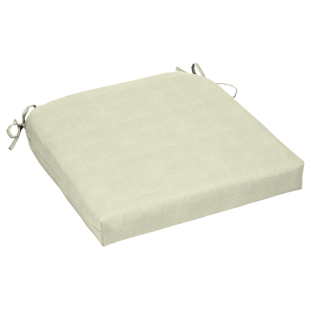 CushionGuard Oatmeal Outdoor Seat Cushion