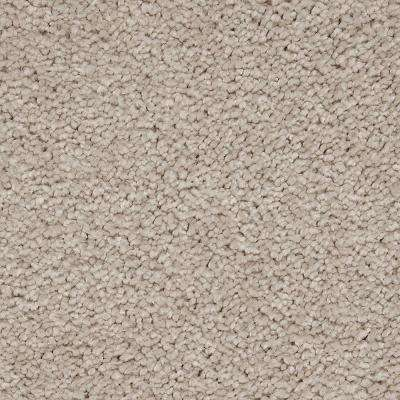 Carpet Sample - Castle II - Color Chenille Textured 8 in. x 8 in.