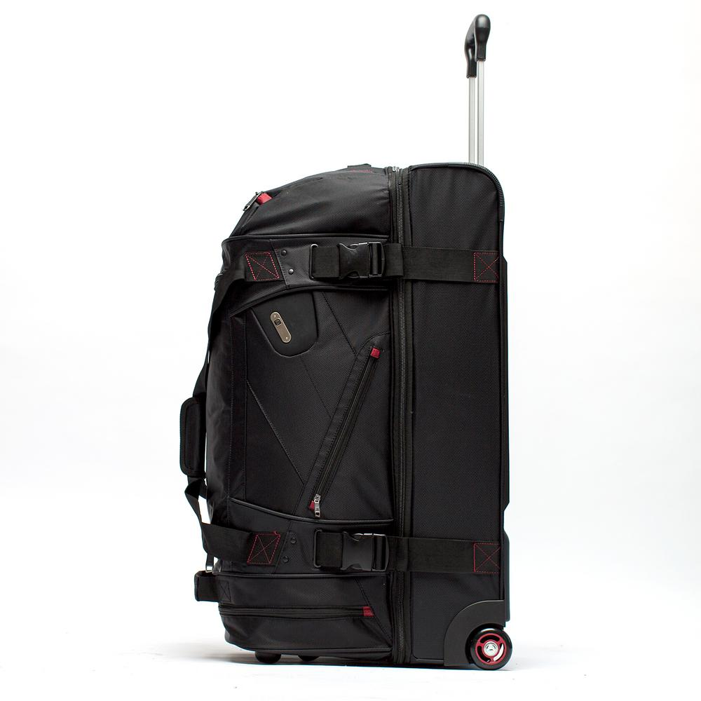 Ful Tour Manager Deluxe 30 In Rolling Duffel Bag Retractable Pull Handle Split Level Storage
