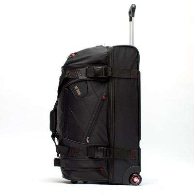 Tour Manager Deluxe 30 in. Rolling Duffel Bag Retractable Pull Handle Split Level Storage