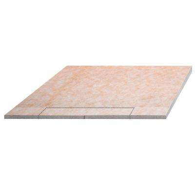 Kerdi-Shower-LS 55 in. x 55 in. Polystyrene Sloped Shower Tray