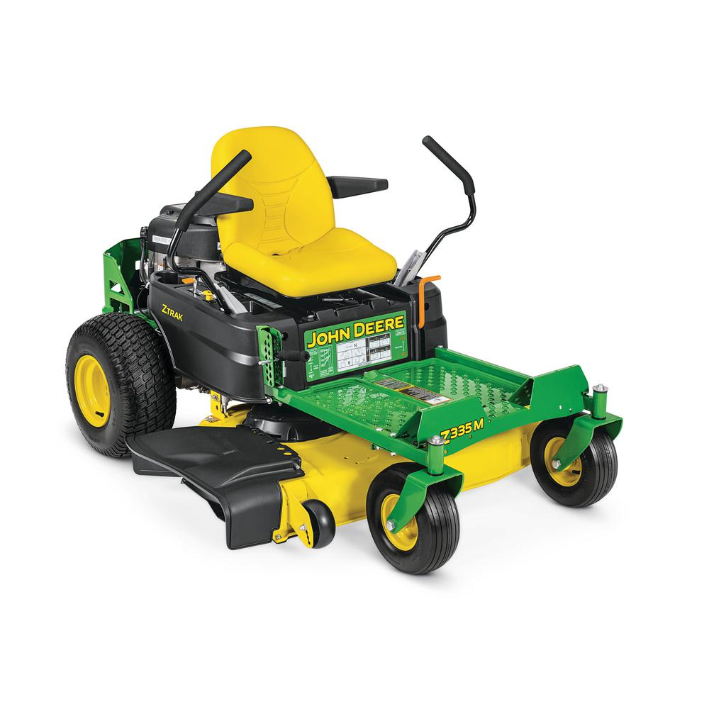 John Deere Zero Turn Mowers : John deere z m in hp gas dual hydrostatic zero