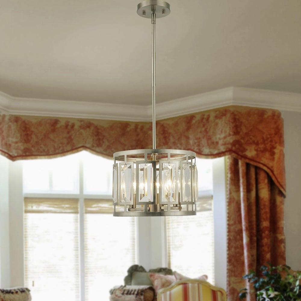 Honem 11.5 in. 3-Light Indoor Bronze Pendant Lamp with Light Kit